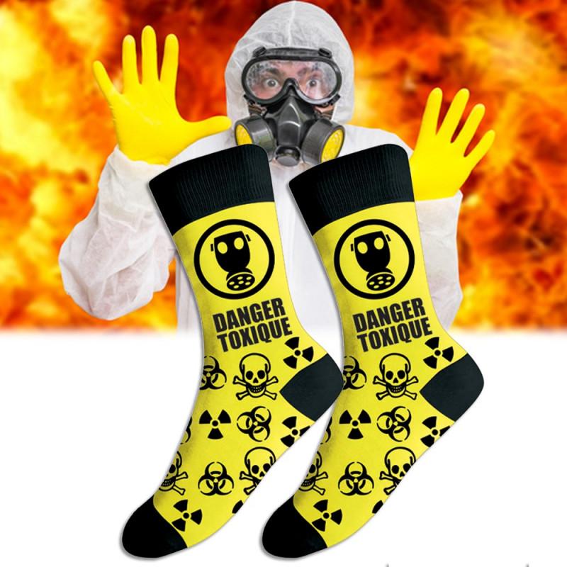Chaussettes Danger Toxique