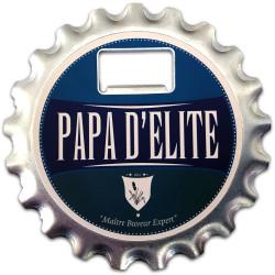 Décapsuleur Magnet Dessous de verre Papa d'élite