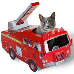 Camion de pompier, Maison de jeu pour chat
