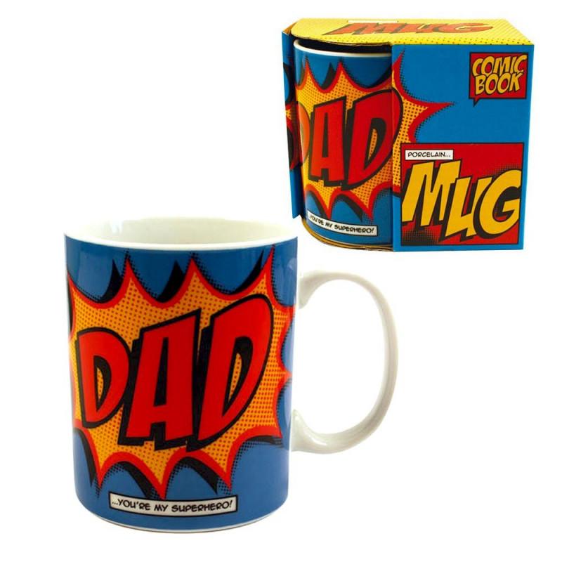 Mug Comics Dad