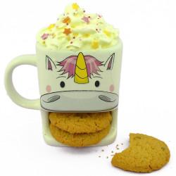 Mug biscuits Licorne