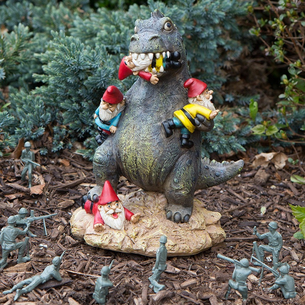 D co jardin gnomezilla le massacre des nains de for Jardin 95