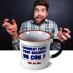Mug Comment occuper un con
