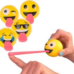 Balle rebondissante Emoji langue