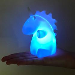 Mini lampe licorne à variation de couleurs