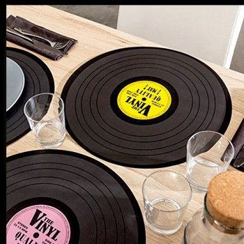 4 sets de table collection vinyl