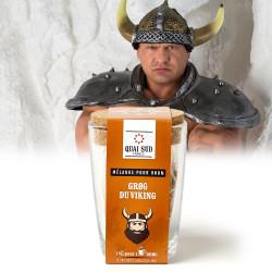 Grog du viking, tasse et infusettes