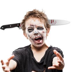 Serre-tête couteau ensanglanté