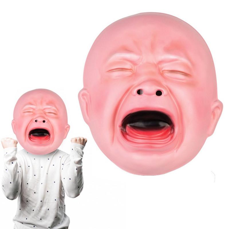 Masque géant de bébé