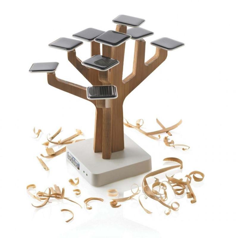 Chargeur arbre solaire