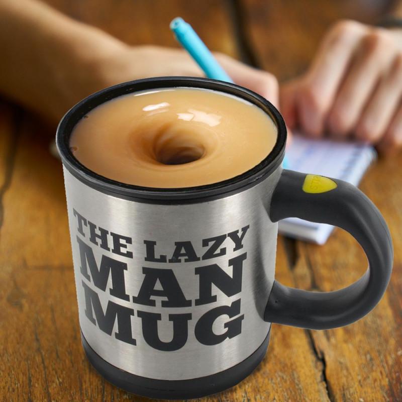The Lazy Mug avec mélangeur automatique