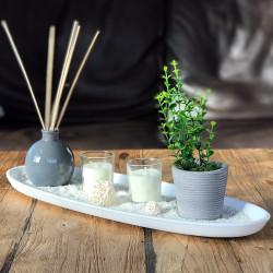 Plateau décoratif Zen senteur ylang