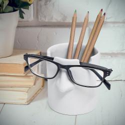 Pot à Crayons Repose Lunettes