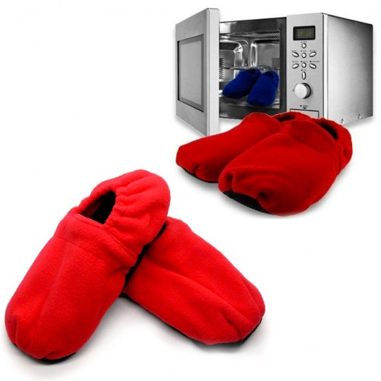 Chaussons chauffants micro-ondes