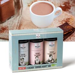 Coffret 3 cacaos vintage bio