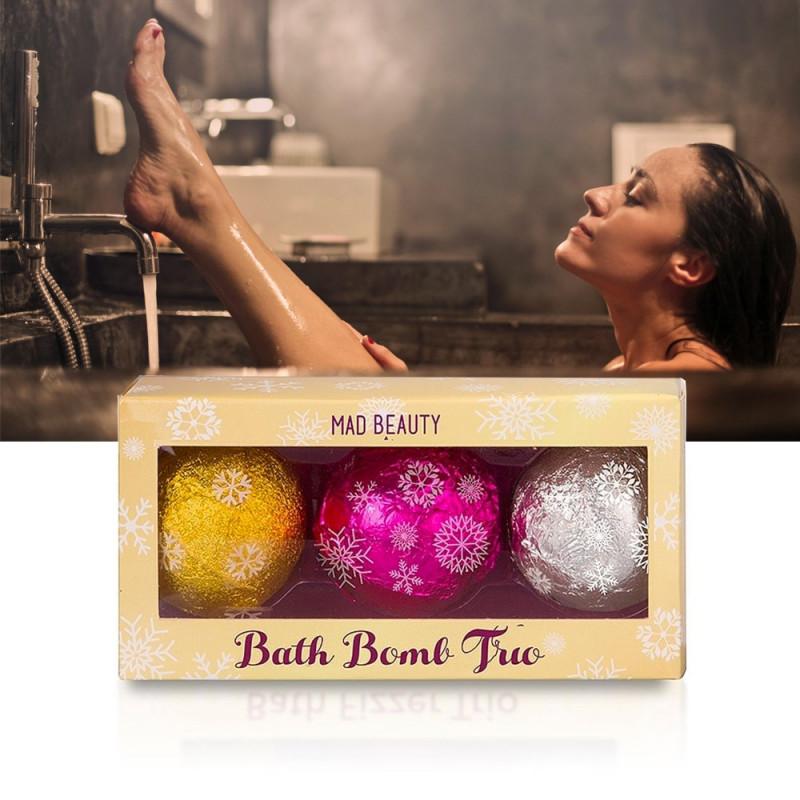 Trio de bombes effervescentes pour le bain