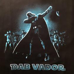 T-shirt humoristique Dab Vador taille L