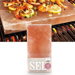 Planche de sel rose de l'Himalaya