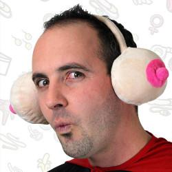 Cache-oreilles seins