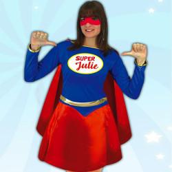 Déguisement Femme Super Héroïne Personnalisable