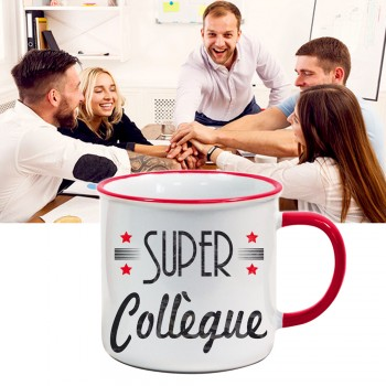 Mug US Super Collègue