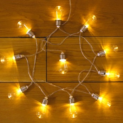 Guirlande déco 10 ampoules Edison