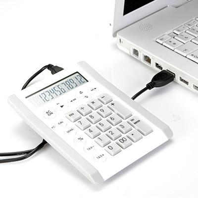 Vente Pavé numérique calculatrice hub USB