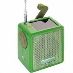 Radio écologique solaire dynamo