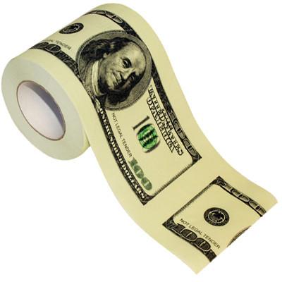 Vente Papier toilette Dollar, l'anti-crise.