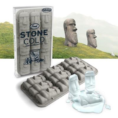 Stone Cold, moule à glaçons Moaï
