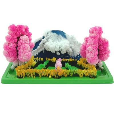 Jardin de cristal, jardin magique