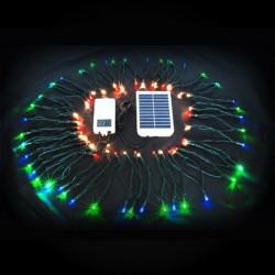 Guirlande solaire 100 leds 10m multicolore
