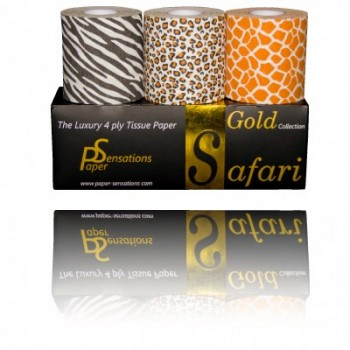 Coffret Gold papier toilette Safari