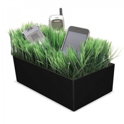 Station de chargement pelouse