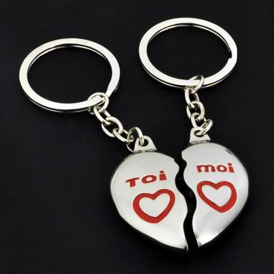 Porte-clés des amoureux