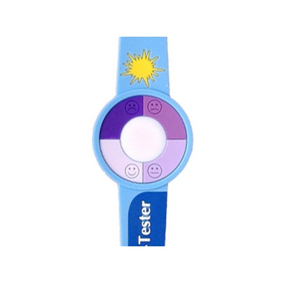 Bracelet testeur d'UV