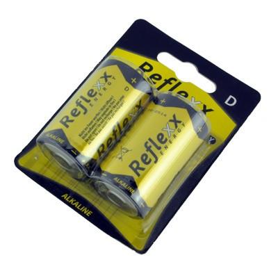 2 piles alcalines LR20