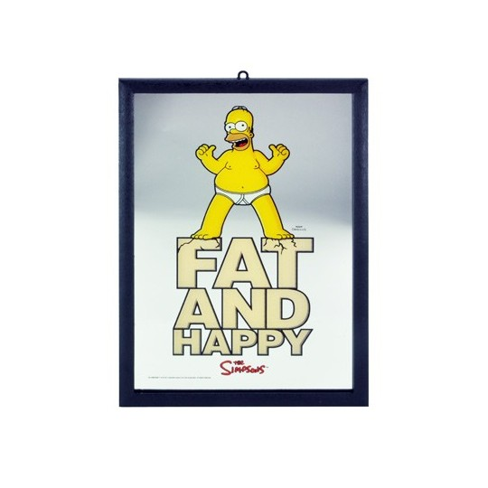 Miroir Homer Simpsons fat and happy