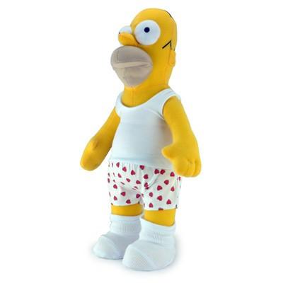 Peluche Homer Simpsons caleçon rouge