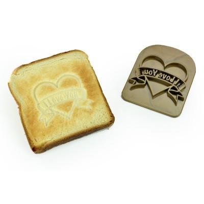 Love toast tatouage pour pain grillé