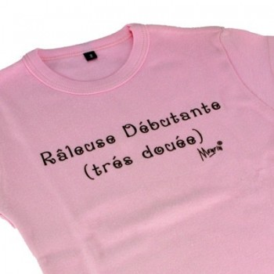 T-shirt 4 ans - Raleuse débutante (très douée)