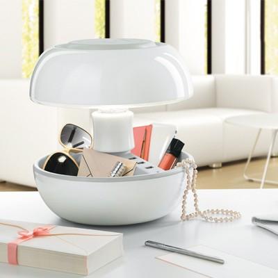 Lampe design chargeur Joyo blanche