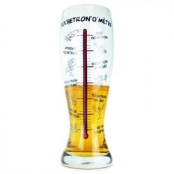 Verre à bière géant Pochetron'o'mètre