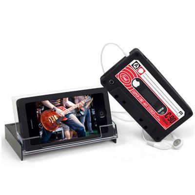 Etui iPhone cassette audio