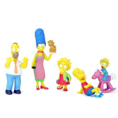 Set de 5 figurines Simpsons