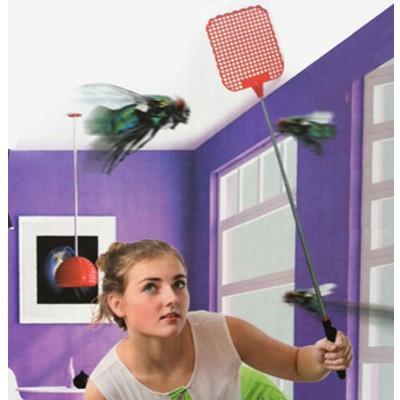 Tapette à mouche téléscopique