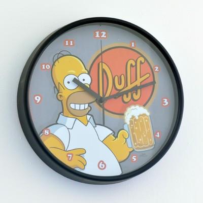 Horloge Simpsons Duff