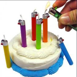 Bougies anniversaire briquet Flikz