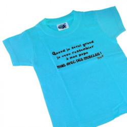 T-shirt 2 ans - Quand je serai grand je veux ressembler...