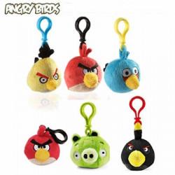 Angry birds peluche porte-clés clip